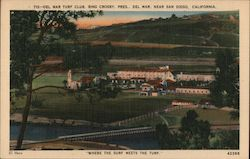 Del Mar Turf Club, Bing Crosby, Pres., Near San Diego