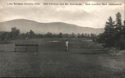 Lake Sunapee Country Club, 16th Fairway and Mt. Kearsarge