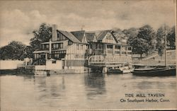 Tide Mill Tavern, On Southport Harbor