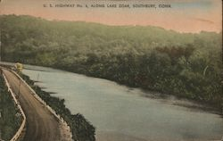 U.S. Highway No. 6, Along Lake Zoar