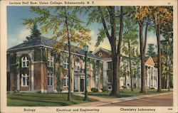 Lecture Hall Row, Union College Postcard
