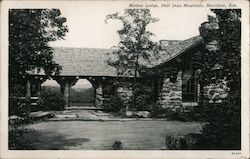 Mather Lodge, Petit Jean Mountain Postcard