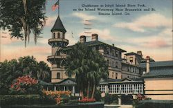 Clubhouse at Jekyll Island State Park
