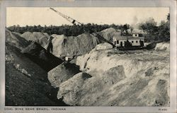 Coal Mine Near Brazil, Indiana