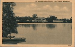 Madison County Country Club Postcard