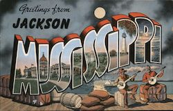 Greetings from Jackson, Mississippi
