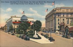 Civic Center Postcard