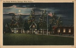 The Pines Health Resort Postcard