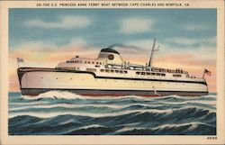 S.S. Princess Anne Ferry Boat