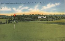 Forest Park Golf Course, looking from No. 1 Tee