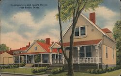 Headquarters and Guard House, Fort Banks Postcard