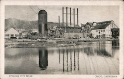Stirling City Mills Postcard