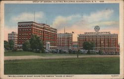 Group of Electric Buildings Postcard