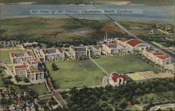 Air View of The Citadel Postcard
