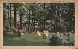 The Adirondack Inn showing North-East Wing, Adirondack Mts.
