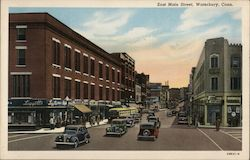 East Main Street Postcard