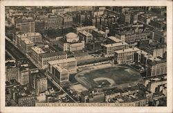 Aerial View of Columbia University