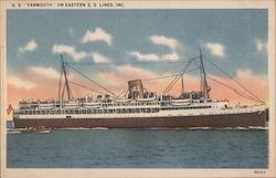 S.S. Yarmouth on Eastern SS Lines, Inc.