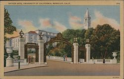 Sather Gate, University of California