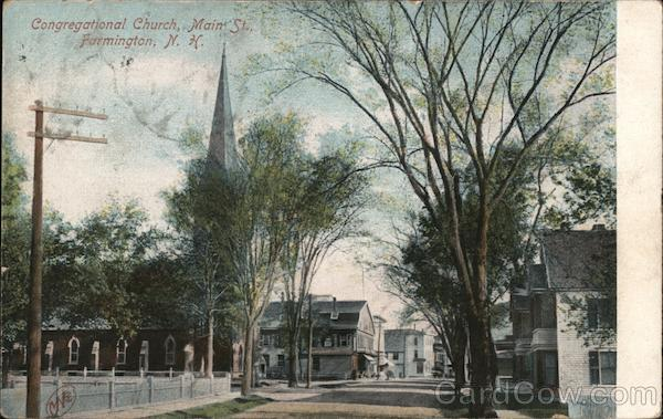 Congregational Church, Main St. Farmington New York