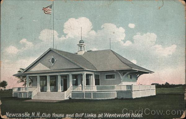 Club House and Golf Links at Wentworth Hotel New Castle New Hampshire