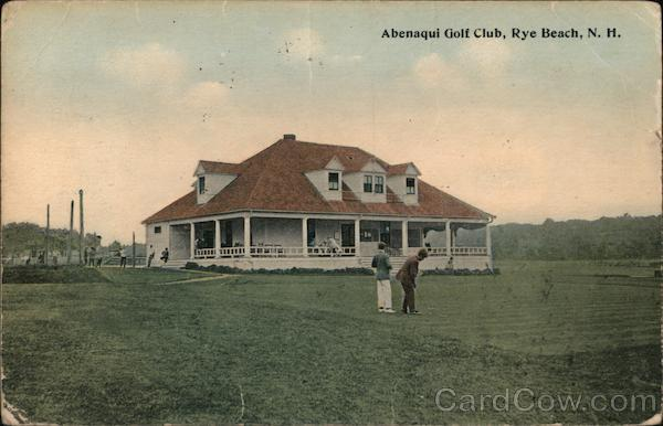 Abenqui Golf Club Rye Beach New Hampshire