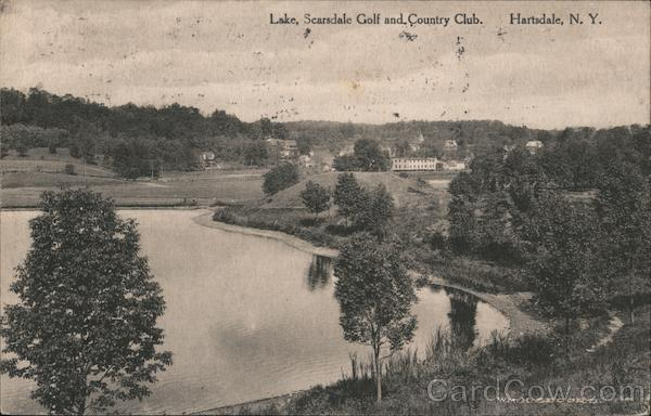 Lake, Scarsdale Golf and Country Club Hartsdale New York