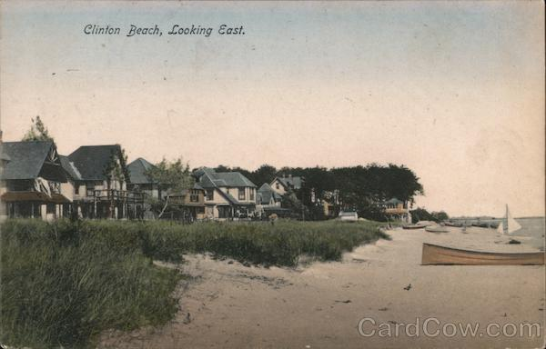 Clinton Beach, Looking East Connecticut