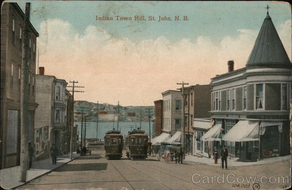 Indian Town Hill Saint John New Brunswick Canada