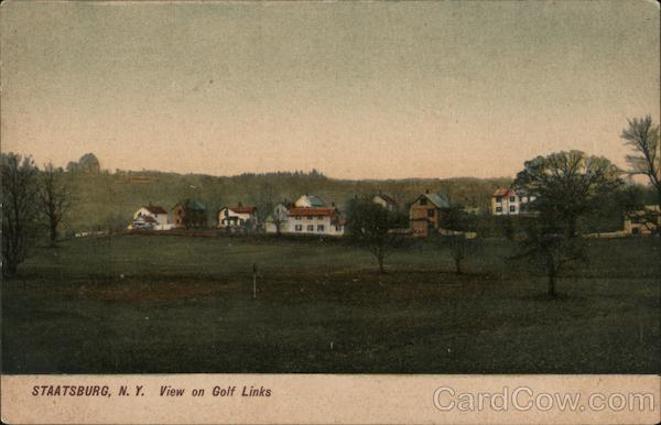 View on Golf Links Staatsburg New York