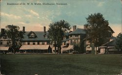 Residence of Dr. W. S. Webb