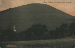Mount Anthony from Country Club Grounds Postcard