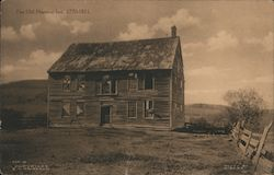 The Old Harmon Inn, 1770-1911 Postcard