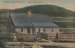 The House where Col. Baum Died. Postcard