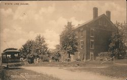 State Line House Postcard