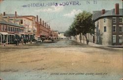 Central Avenue from Central Square Postcard