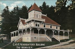 G.A.R. Headquarters Building Postcard