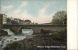Hillsboro Bridge, N.H, New Stone Bridge