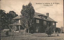 Residence of Admiral W. H. Folger Postcard