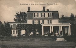 Residence of Mrs. C.C. Beaman