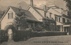 Residence of Dr. A.H. Nichols