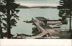 Steamer Landing, Blodgetts, Lake Sunapee