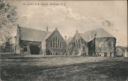 St. Luke's P.E. Church Postcard