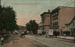 Bloomfield Avenue Looking W. Postcard