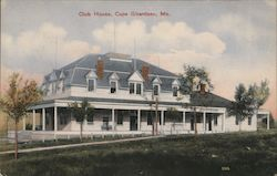 Club House Postcard