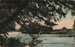 Mohawk River & Teugega Country Club Postcard