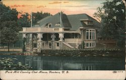 Park Hill Country Club House Postcard