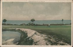 Overlooking Gulf of Mexico, Thirteenth Green, No. 2 Course