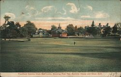 Frankford Country Club, Golf Links, Showing First Tee