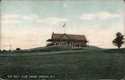 The Golf Club House Postcard